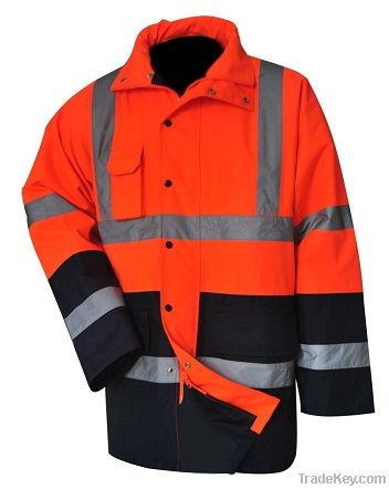 High Visibility Contrast Traffic Jacket