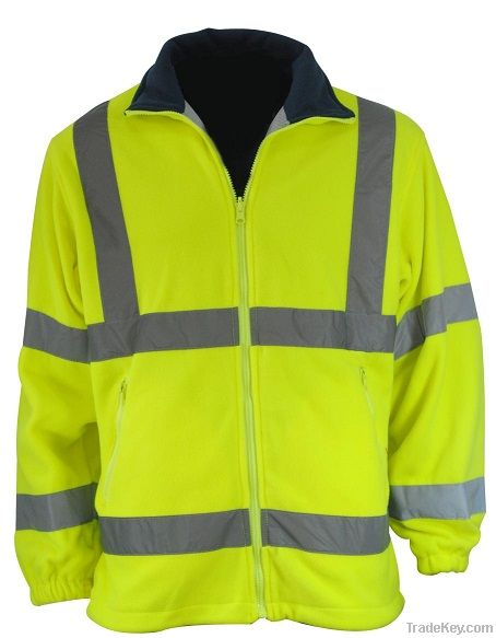 High Visibility Polar Fleece Jacket