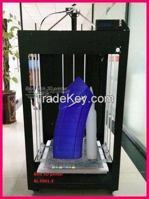 big size modeling 3D printer, rapid prototyping 3D printer 50*50*100cm