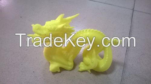 dual nozzle large size  prototype 3D printer 50*50*60cm
