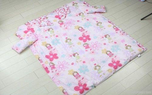 silk filled baby sleeping bag