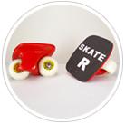 Wheelman, Freeline Skate, Flowlab, Rocking Skate Board, Folding Bike