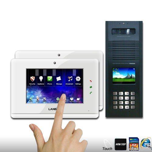 IP video door phone with home security, video intercom system
