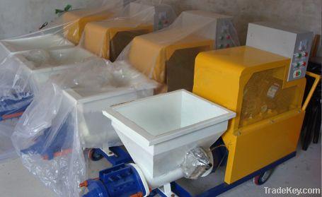Professional plaster spraying machine for sale