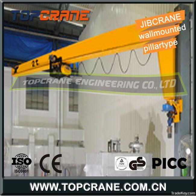 3ton Jib crane of wall mounted