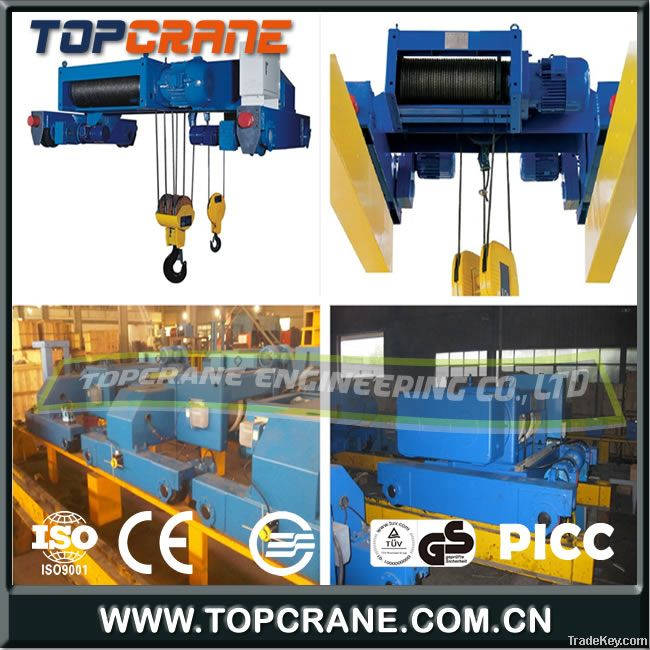 Double Girder Electric wire rope hoists