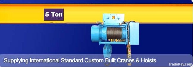 CD1/MD1 Wire rope hoist 3ton