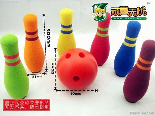 Kids' Bowling Toy Set