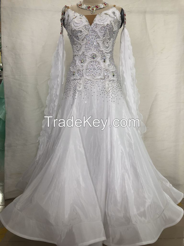 Customized Competition Wear Ballroom Dance Dress