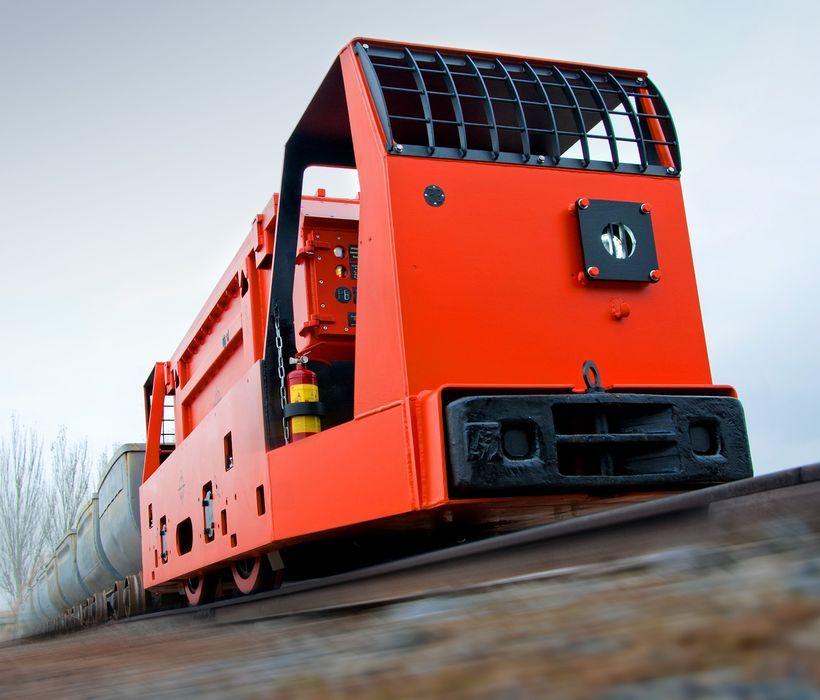 Electric mining locomotive ERA