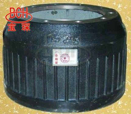 BPW truck brake drum