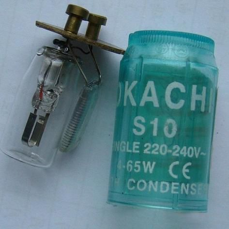Supply FS-U fluorescent starter,S10,S2