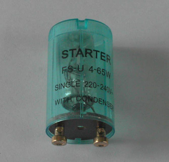 lamp light starters, FS-U fluorescent starter, S10, S2