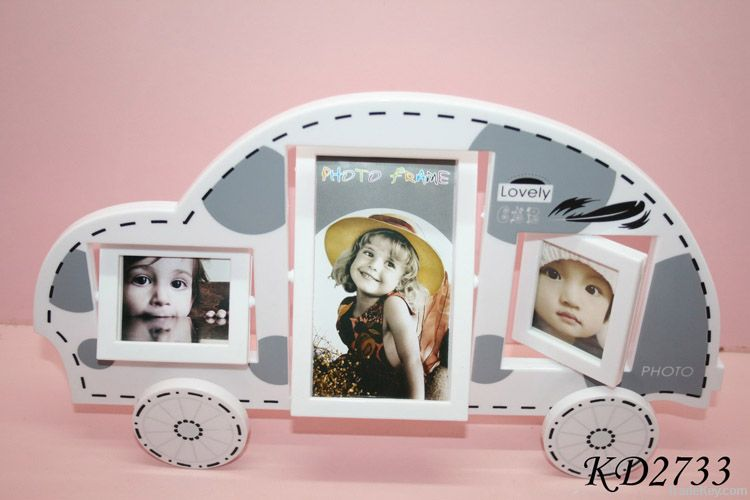 Car shaped photo frame