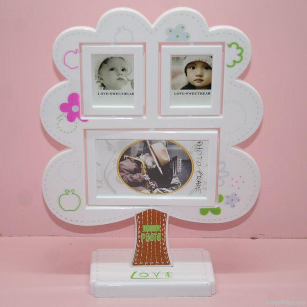 Tree shaped frame photo