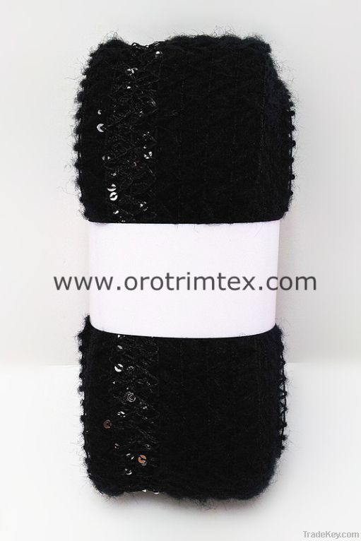 Fancy Yarn/For Hand knitting/For scarves