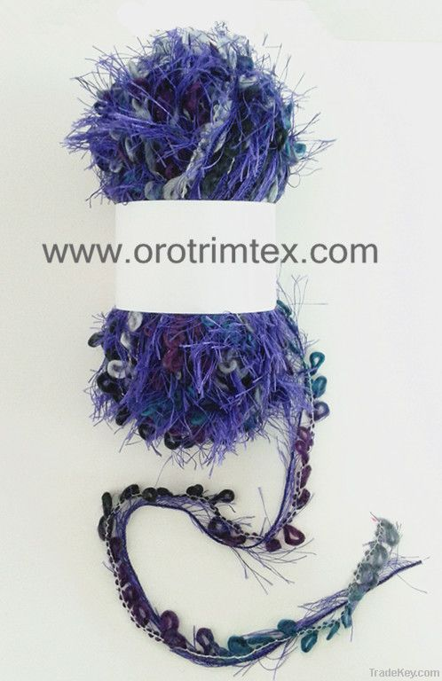Loop yarn /handknitting yarn/for scarves