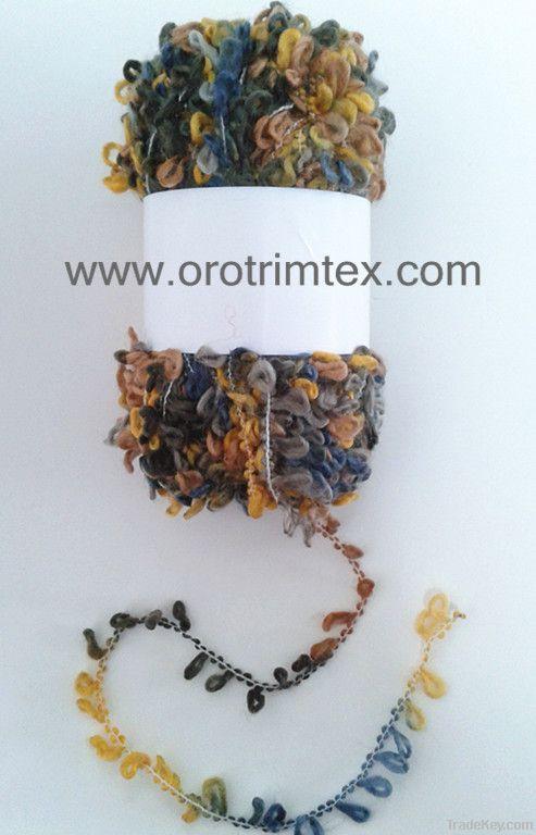 Loop yarn /handknitting yarn/for scarves