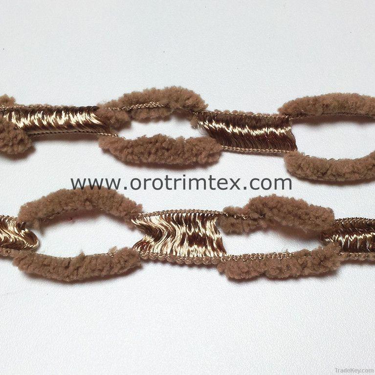 Ladder yarn /handknitting yarn/for scarves