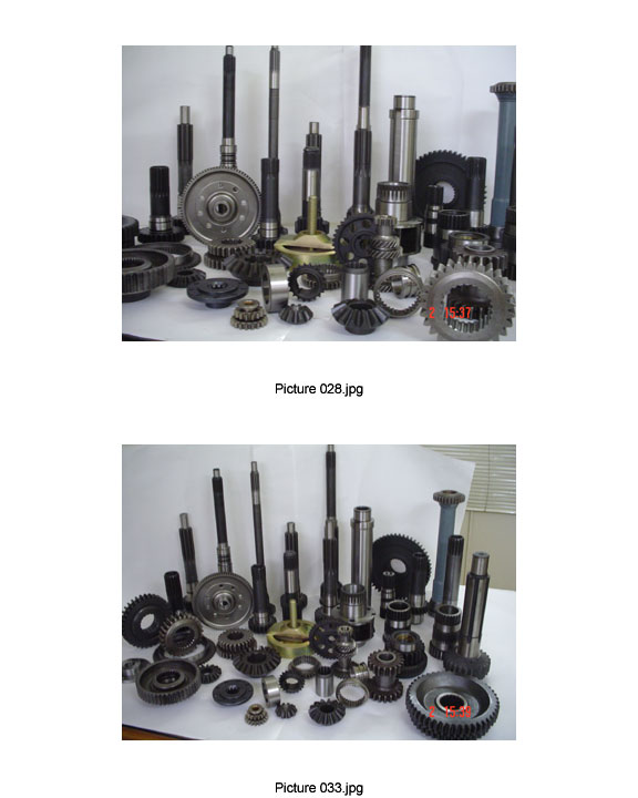 cronw wheel pinion, differential spare, transmission spare, gears