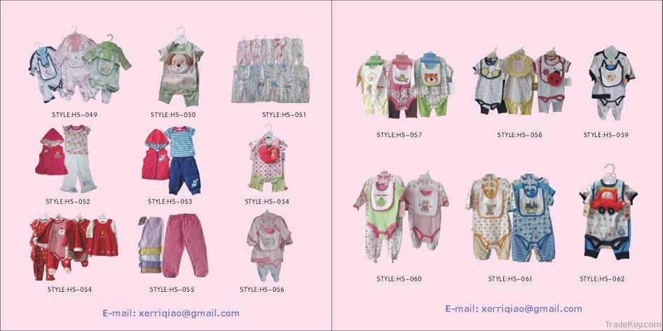 0-24 months baby clothes, chinese factory outlet
