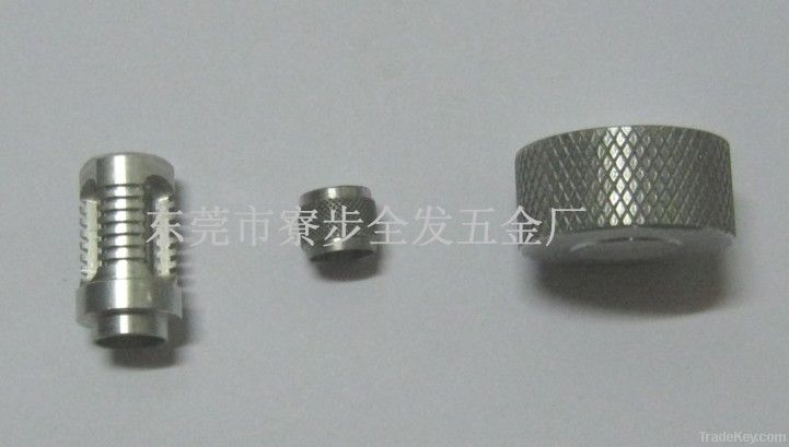 CNC machining stainless steel long and thin shaft, according to drawing