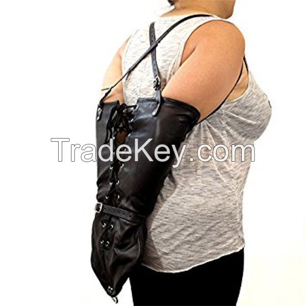 Genuine Leather Arm Binder Bags
