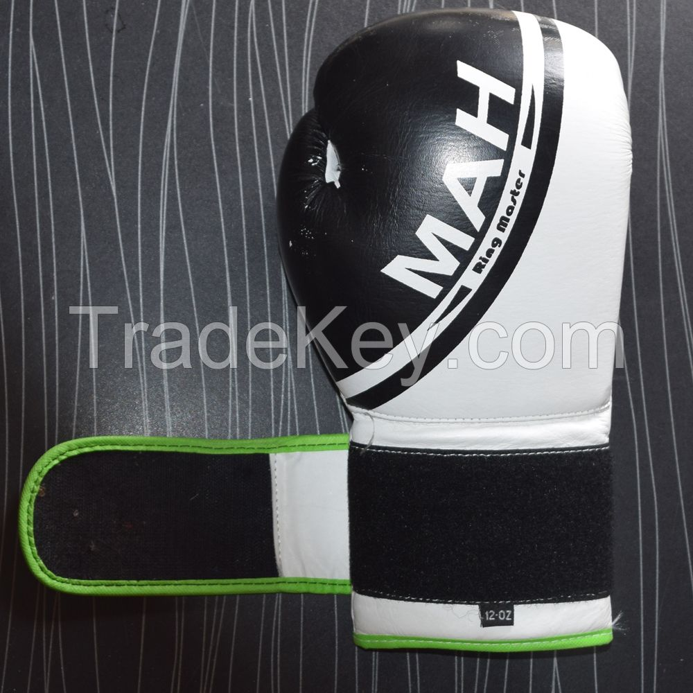 Real Printed Leather Boxing Gloves Supplier By Cosh