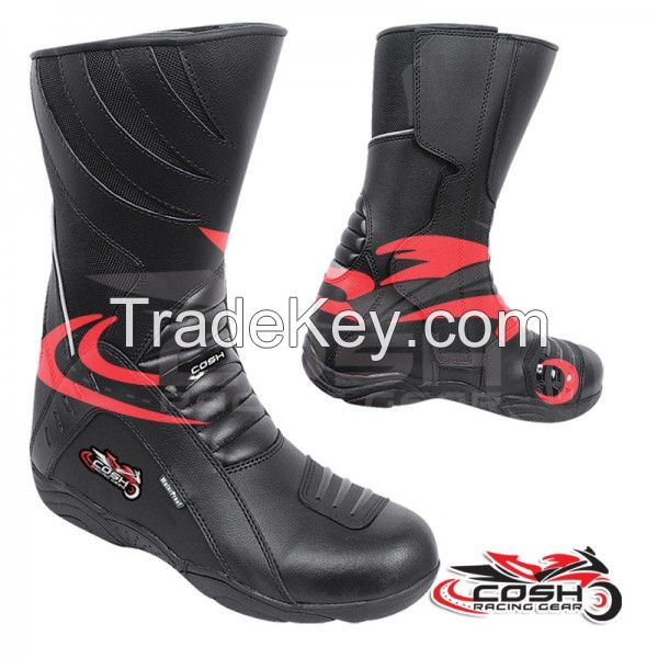 Leather Touring Boots For Men And Women Supplier And Manufacturer