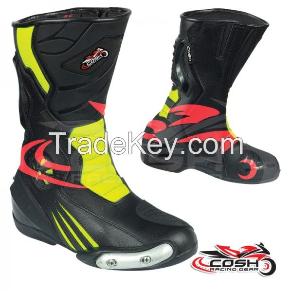 Waterproof Motorcycle Ridding Boots Supplier, Motorbike Racing Shoes Manufacturer