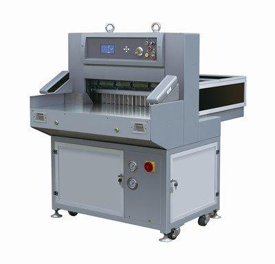 Digital Display Double Hydraulic Paper Cutter (QZYX660)