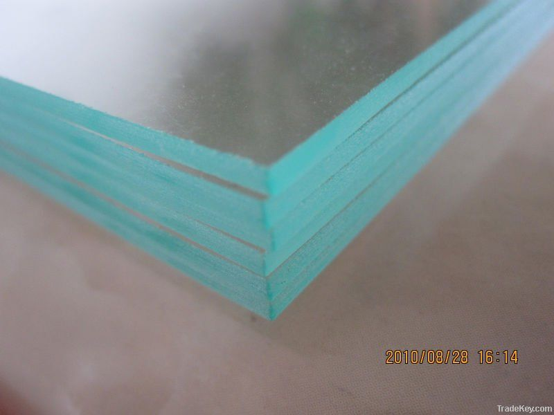 1.8mm, 2mm clip frame glass with polished-edge