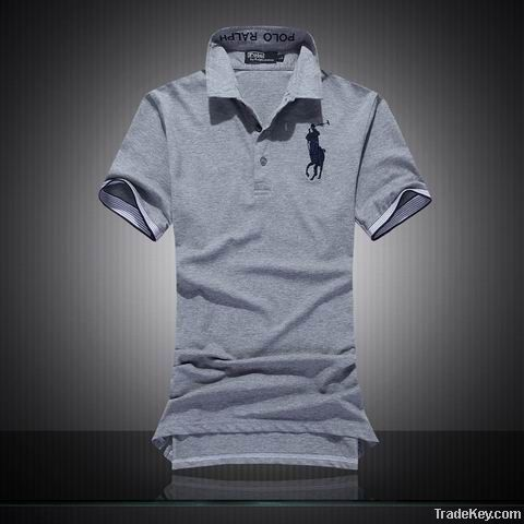 Fashion style collar business cotton gentleman/mens tshirts