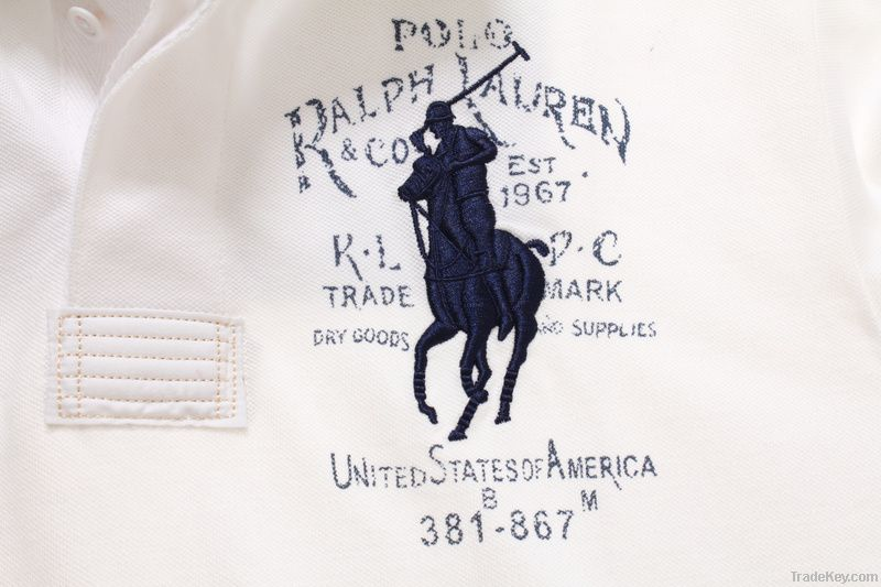 United states of America  P-o-lo collar mens knight T-shirt