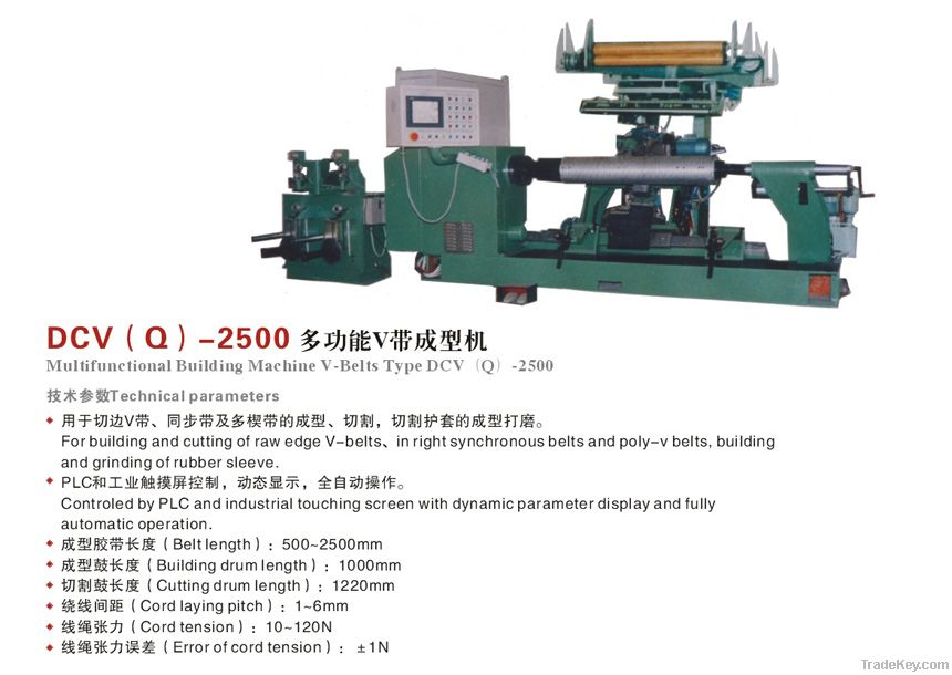 Multifunctional Building Machine V-belts