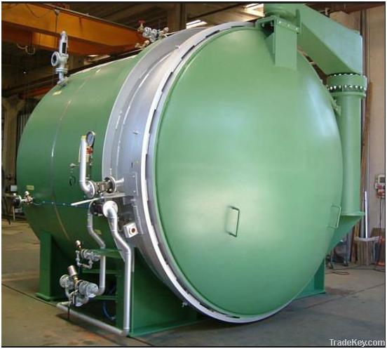 Rubber Vulcanizing Boiler
