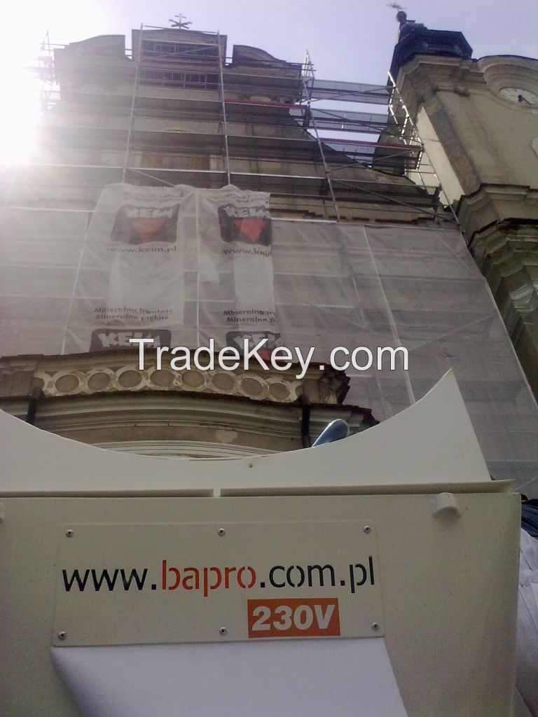 Plastering machine Bapro one STRONG MAX 230V or 400V