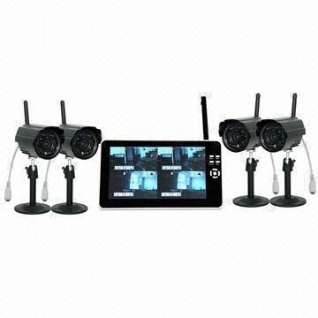 Digital Wireless Security Monitoring Kit - 7 inch