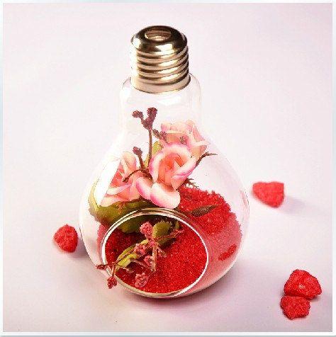 Lamp Bulb Vase