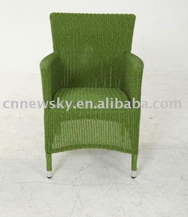 Outdoor wicker rattan chair