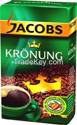 Jacobs Kronung 500 g ground coffee, Coffee bean, Cocoa bean
