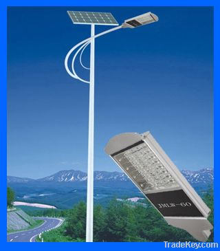 Solar LED Street Light 60W (CE, ROHS FCC approved)