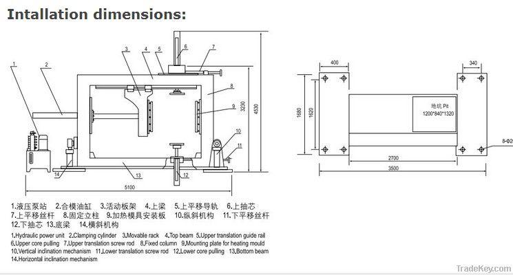 Easy Operation Automatic Pressure APG Machine epoxy molding machine