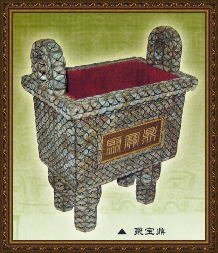 Unique Chinese ancient craftworks