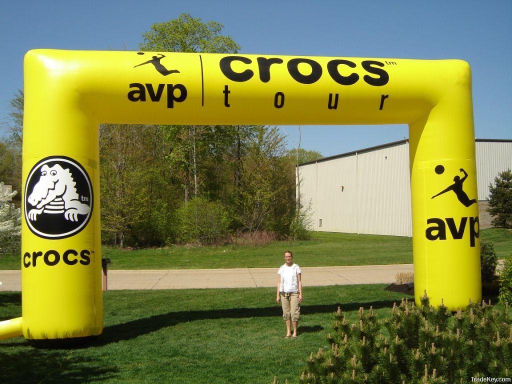inflatable arch, arch, inflatable archway, archway, advertising arch