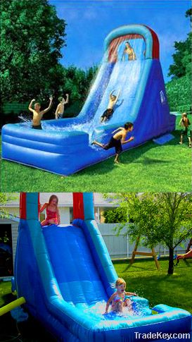 water slide, water game, water toy, slide, inflatable toy, water park