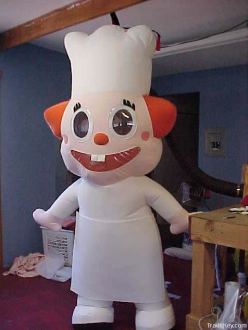 Inflatable moving cartoon, inflatable mascot, inflatable cartoon, costum