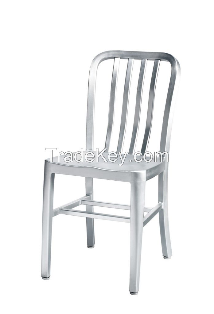 TW1004 Emeco Aluminum Navy Chair
