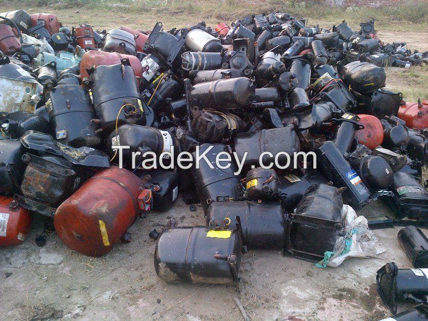 AC and Fridge Compressors scrap