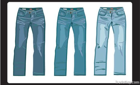 Denim jeans for ladies and men